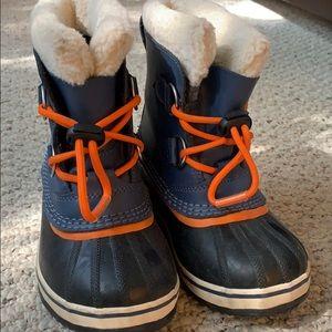 Boys Sorel Winter Boots Size 12